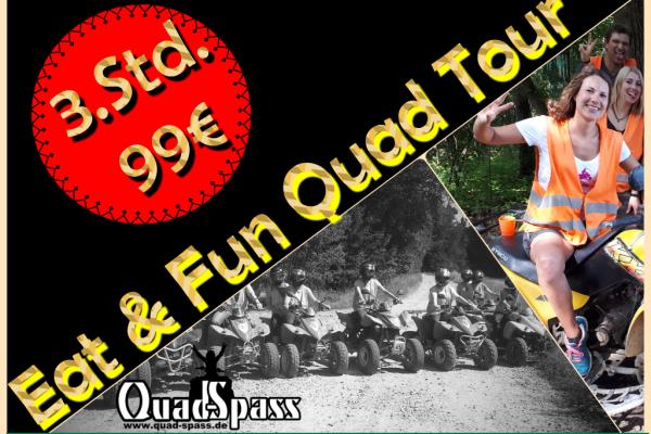 Quad Tour - Eat & Fun - 3 Stunden - Zeitlarn bei Regensburg - Zeitlarn