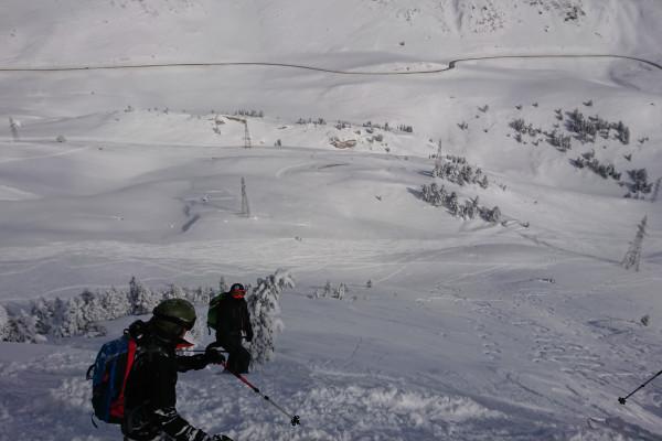 Peuf a gogo, et grand ski en prévision, pour les chanceux !
