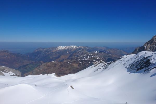 bivouav et freeride en montagne