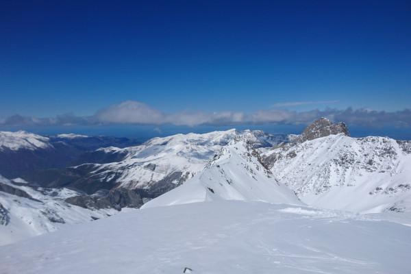 ski et snowboard freeride dans les pyrénées