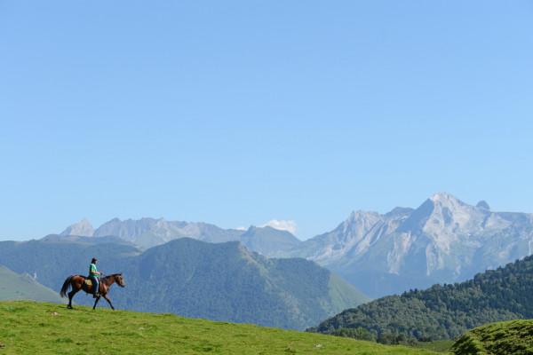 rando cheval sierra de guara