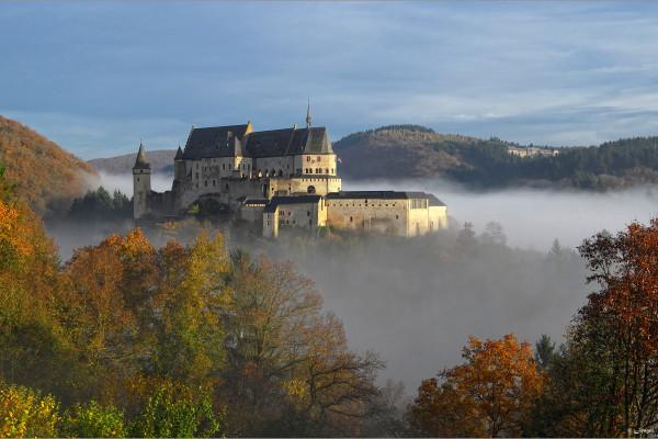 Ticket d'entrée pour le château de Vianden
