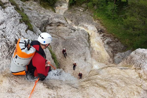 Canyoning Schnuppertour - Schneizlreuth