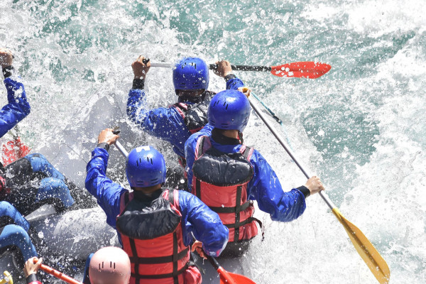 Rafting auf der Saalach - Schneizlreuth