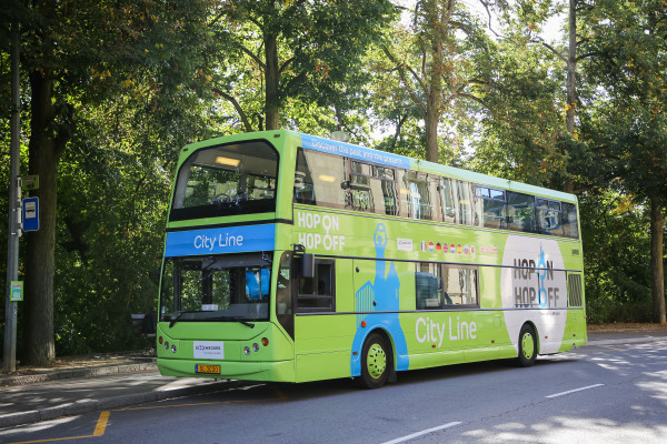 Doppeldecker-Bus Hop On Hop Off Luxemburg