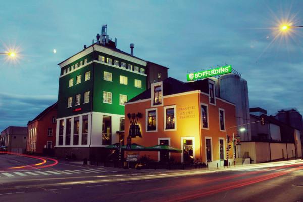 Gebäude Brasserie Nationale Bofferding in Bascharage