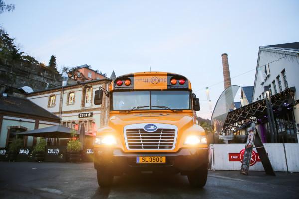Dinner-Hopping Bus in den Rives de Clausen