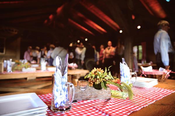 private Veranstaltung im Lentz'en Chalet
