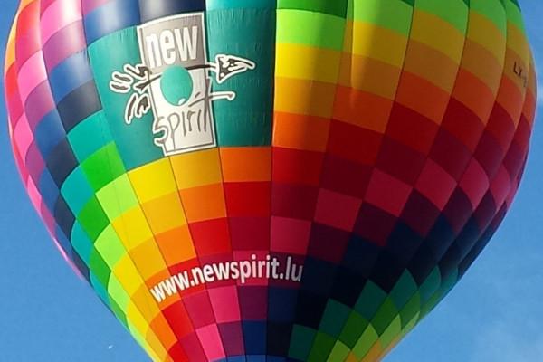 Heißluftballon newspirit.lu