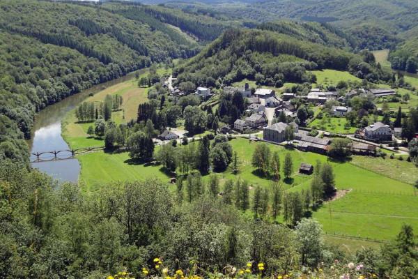 point de vue dans la région de Rochehaut