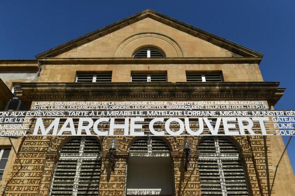 Marché couvert à Metz