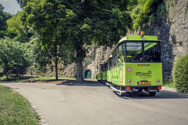 Visite des Casemates du Bock Luxembourg