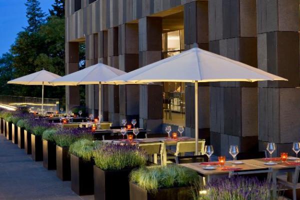 terrasse Hôtel Melia Luxembourg-Ville