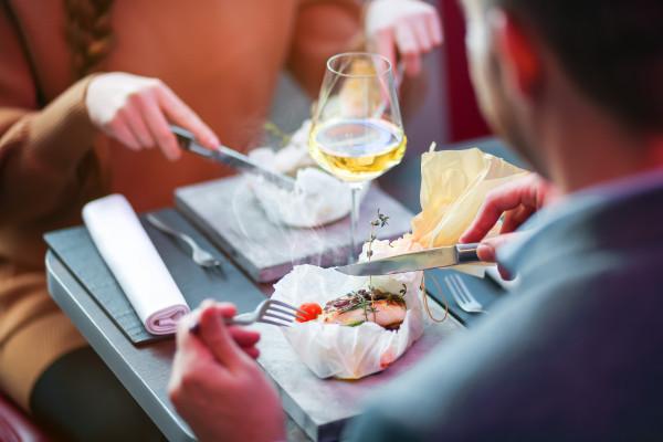 menu gourmet - restaurant sur roues Dinner Hopping
