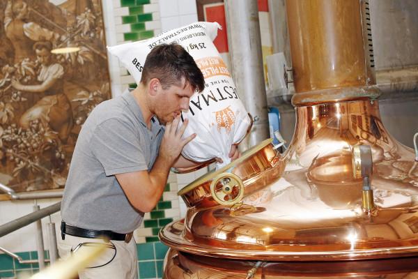 Brewing of Luxemburgish beer