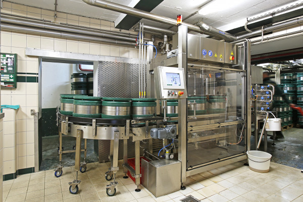 Beer production Clausel brewery