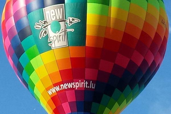 Hot air balloon newspirit.lu