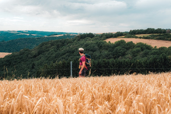 Hiking in the Luxembourg Ardennes