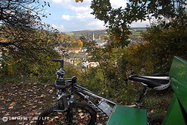 Mullerthal landscape by mountain bike