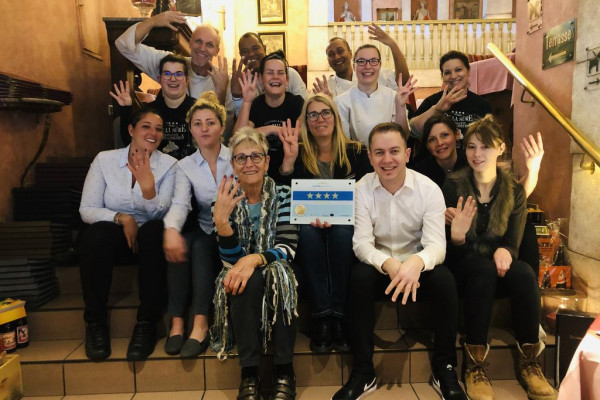 Staff of the Hotel Gourmet & Relax de la Sûre