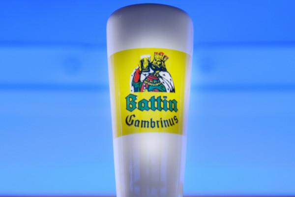 Logo Battin Gambrinus Luxemburgish beer