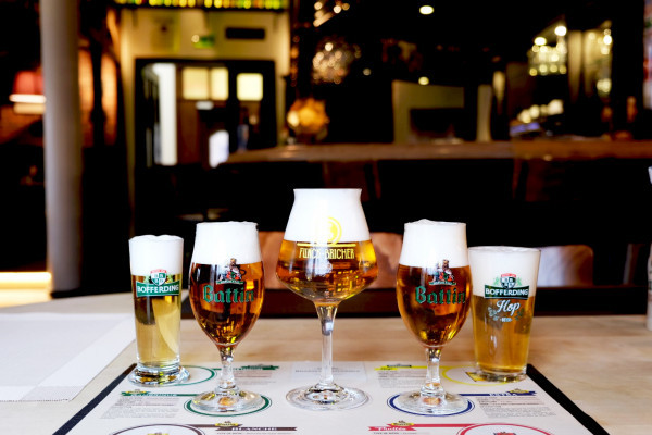 Tasting of Luxembourgish beer
