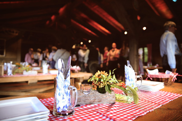private event in the Lentz'en Chalet