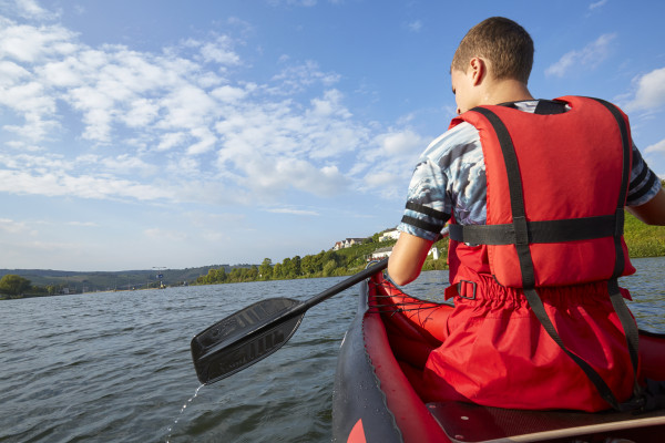 Early bird kayak tour in Lultzhausen