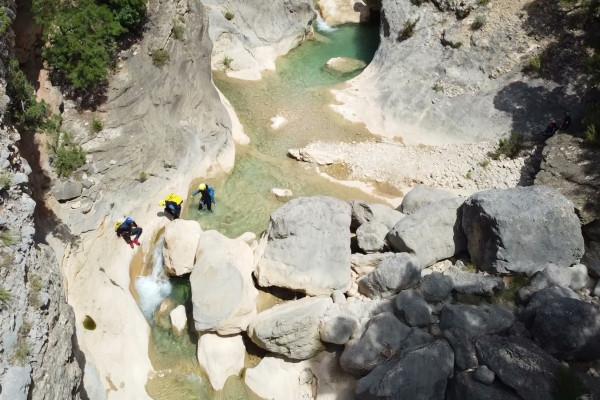 Canyoning en Sierra de Guara avec Pyrénéance