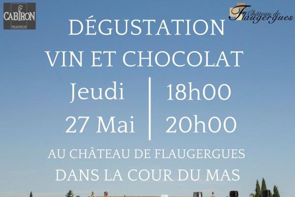 Dégustation Accord Vin Chocolat