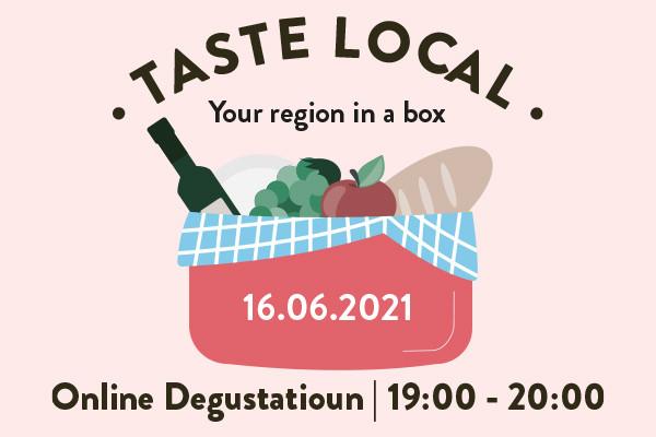 Taste local - Dégustation en ligne