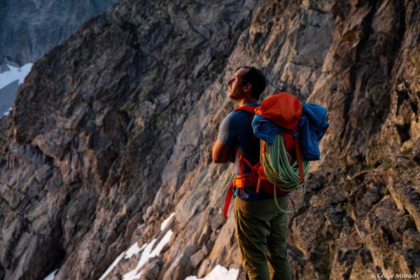 Escalade dans les Pyrénées avec un guide de haute montagne