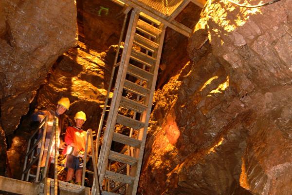Visite guidée de la mine de cuivre