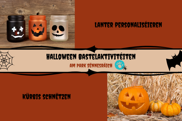 Ticket: Halloween Bastelaktivitéiten