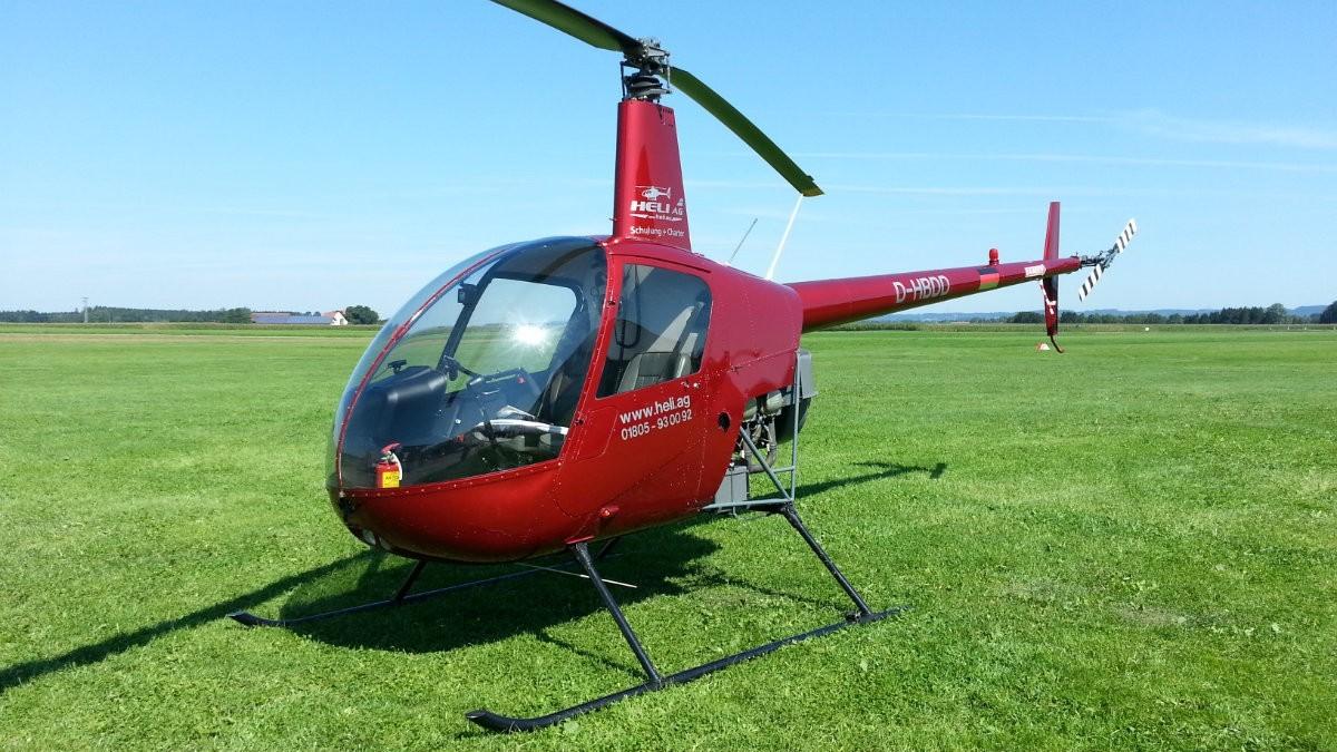 Hubschrauberrundflug im Raum Dortmund in Marl