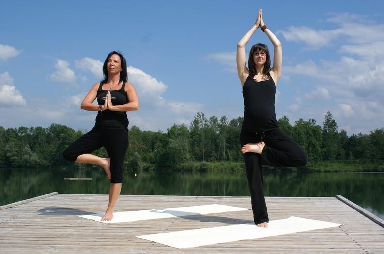 Yogastunde in Manching - Entspannung pur bei Ingolstadt