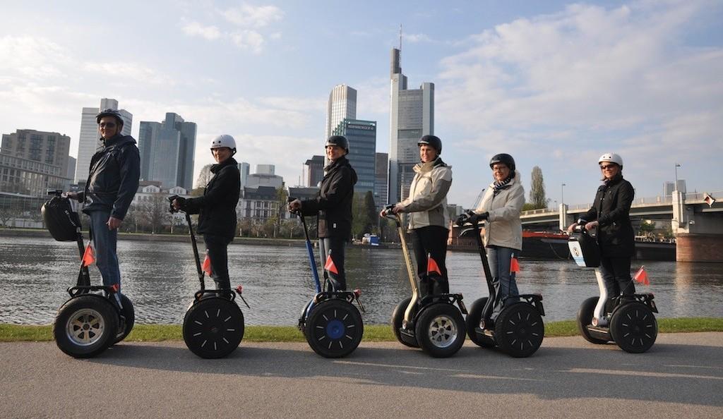 Segway Skyline Tour Frankfurt am Main