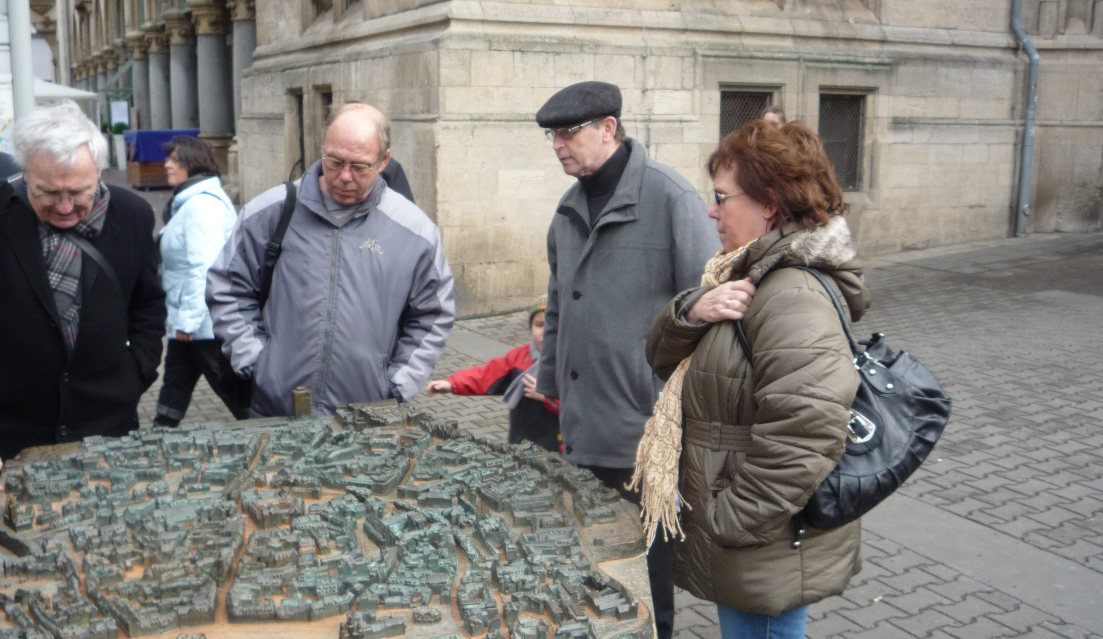 Historische Altstadtführung durch Erfurt