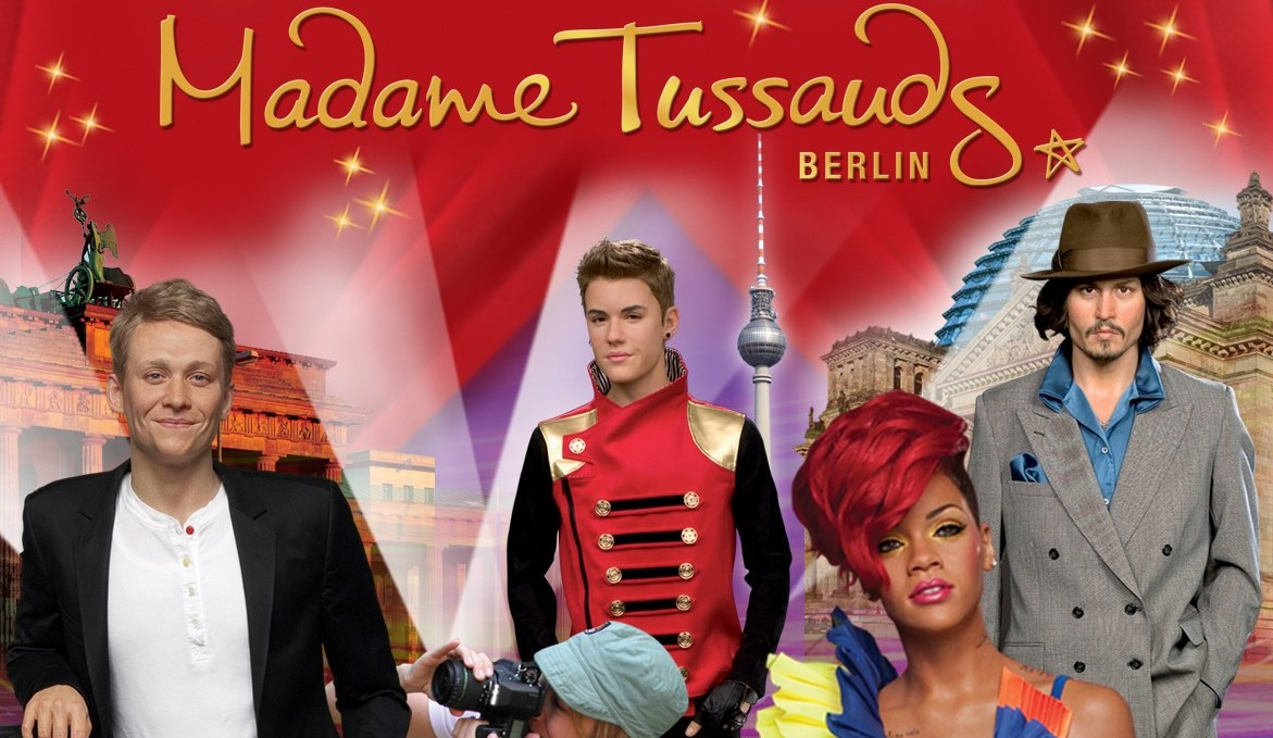 Yellow City Circle Tour in Berlin und Madame Tussauds Berlin