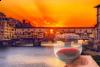 Tour del vino al tramonto