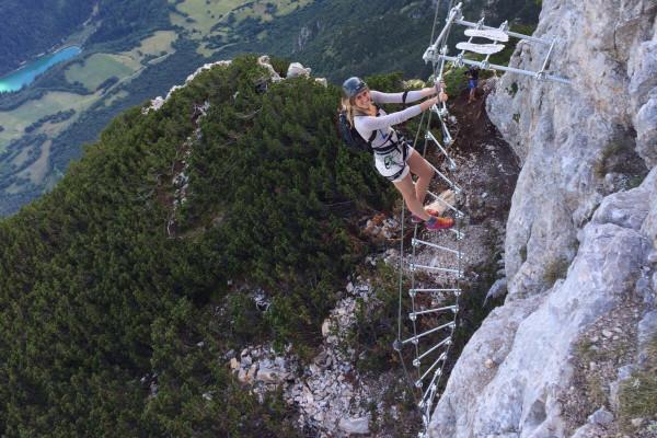 Ferrata dell Aquile, Trentino, Paganella #lolgarda