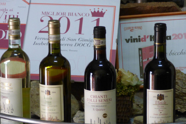 Maxi Gourmet Wine Tour a San Gimignano con Lunch Azienda San Quirico