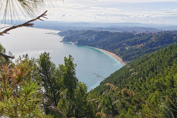 Panorama dal Monte Conero