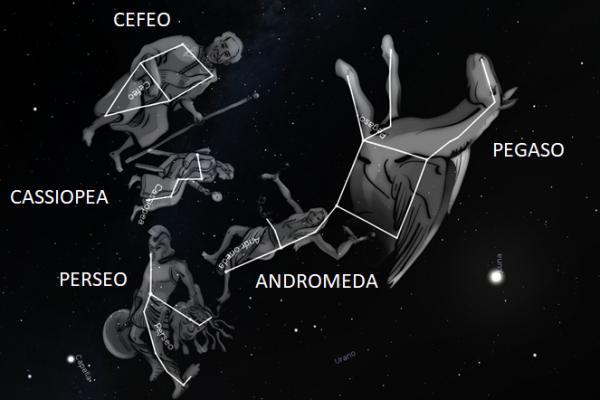 La mitologia di Andromeda