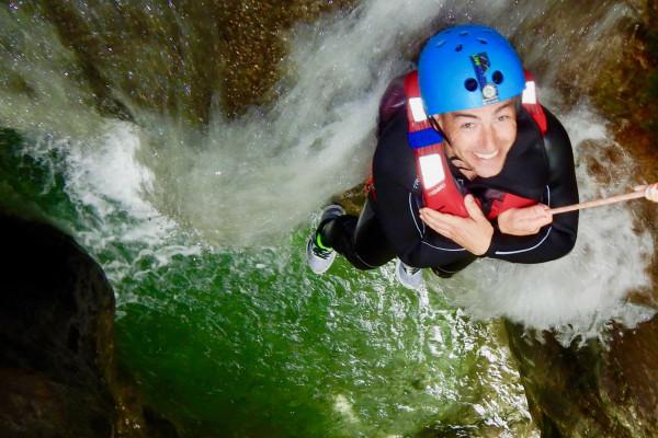 Canyoning Rio Nero con LOLgarda