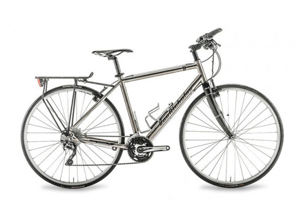 Bici Trekking/Hybrid Bike in Titanium
