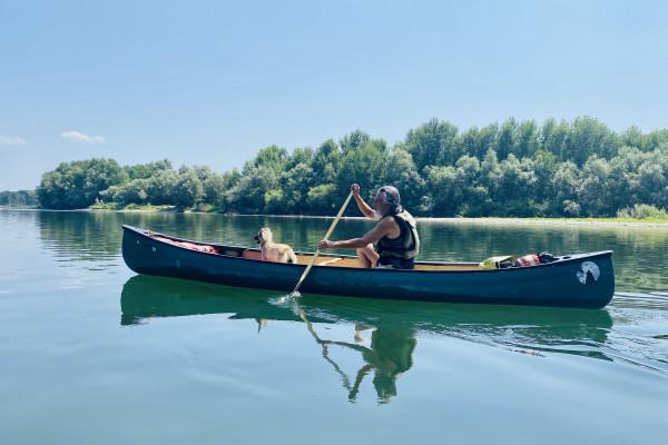 Canoa sul Ticino