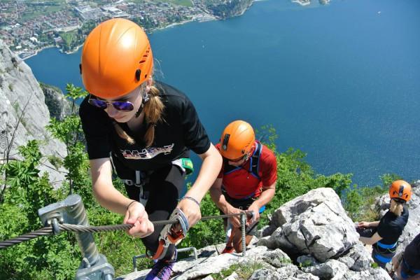 Ferrata Cima CAPI Lago di Garda Trentino #lolgarda