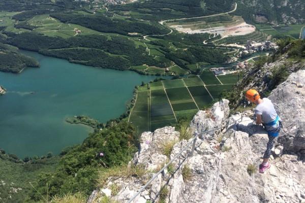 Ferrata Rino Pisetta Sarche Valle dei Laghi Trentino #lolgarda