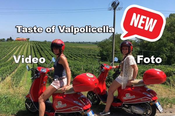 Taste of Valpolicella Vespa scooter tour